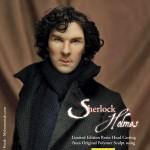 The Sherlock Coat in 1/4 scale