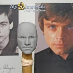 Completed Head sculpt of Luke Skywalker