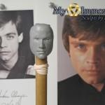 WIP Head sculpt of Luke Skywalker