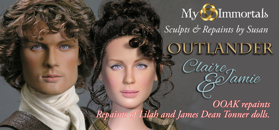 Outlander-Claire Fraser and Jamie Fraser