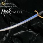 Captain Hook OUaT Tonner repaint SWORD